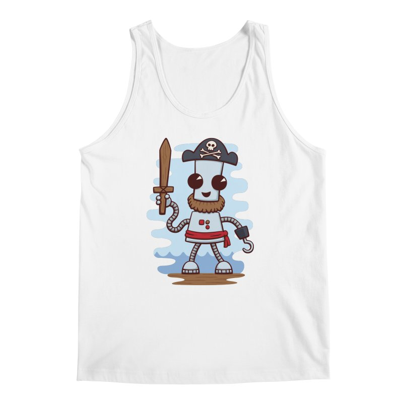 Pirate Ned Men's Tank by doodledojo's Artist Shop