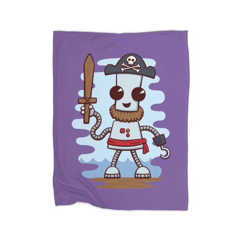 Pirate Ned Home Blanket by doodledojo's Artist Shop