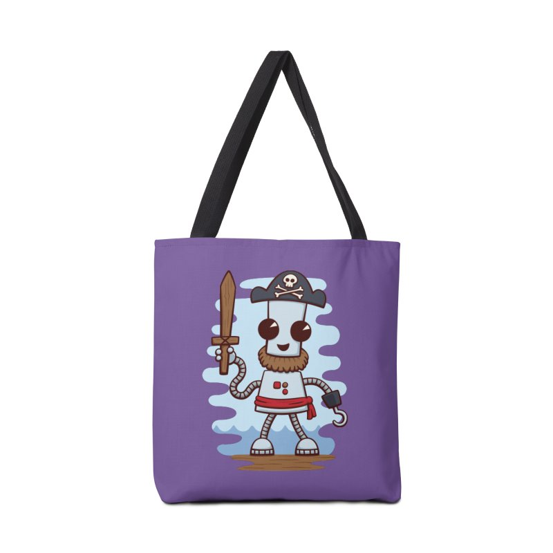 Pirate Ned Accessories Bag by doodledojo's Artist Shop