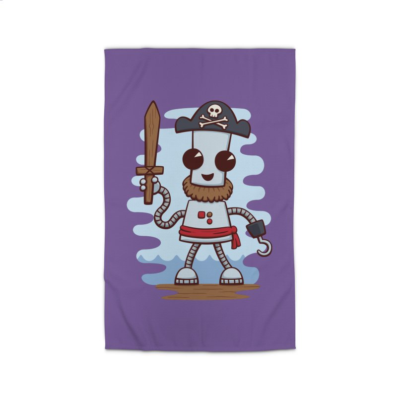 Pirate Ned Home Rug by doodledojo's Artist Shop