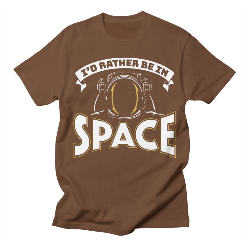 I'd Rather be in Space Men's T-Shirt by doodledojo's Artist Shop