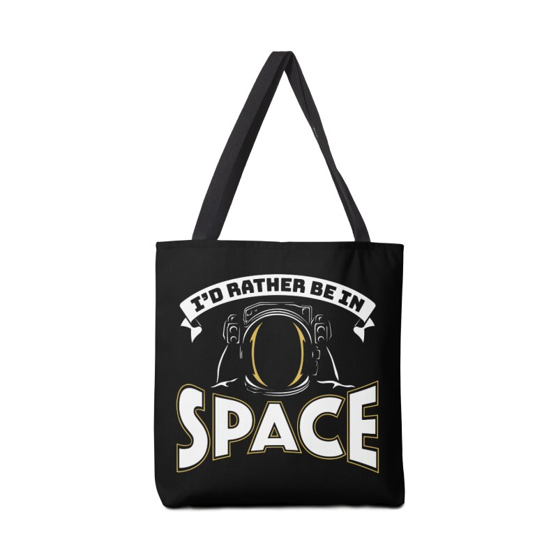 I'd Rather be in Space Accessories Bag by doodledojo's Artist Shop