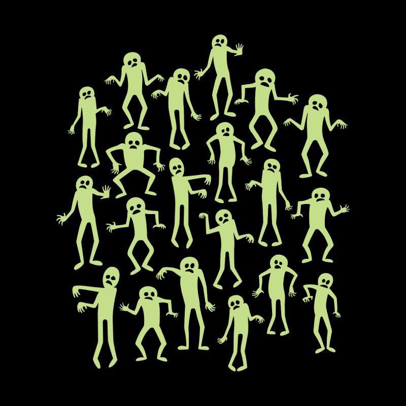 Zombie Dance Home Shower Curtain by doodledojo's Artist Shop