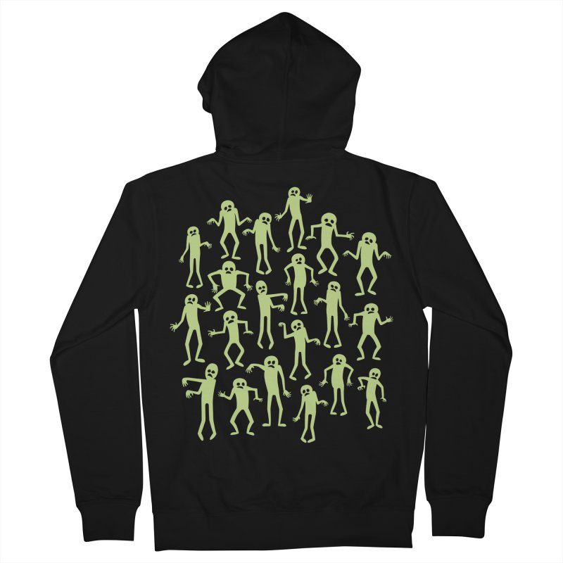 Zombie Dance Women's Zip-Up Hoody by doodledojo's Artist Shop