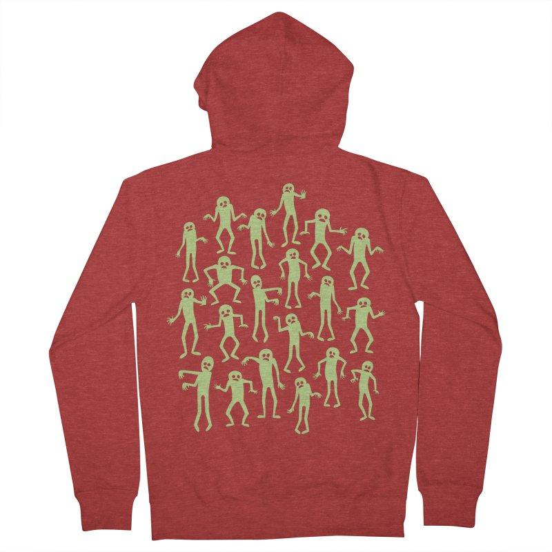 Zombie Dance Men's Zip-Up Hoody by doodledojo's Artist Shop