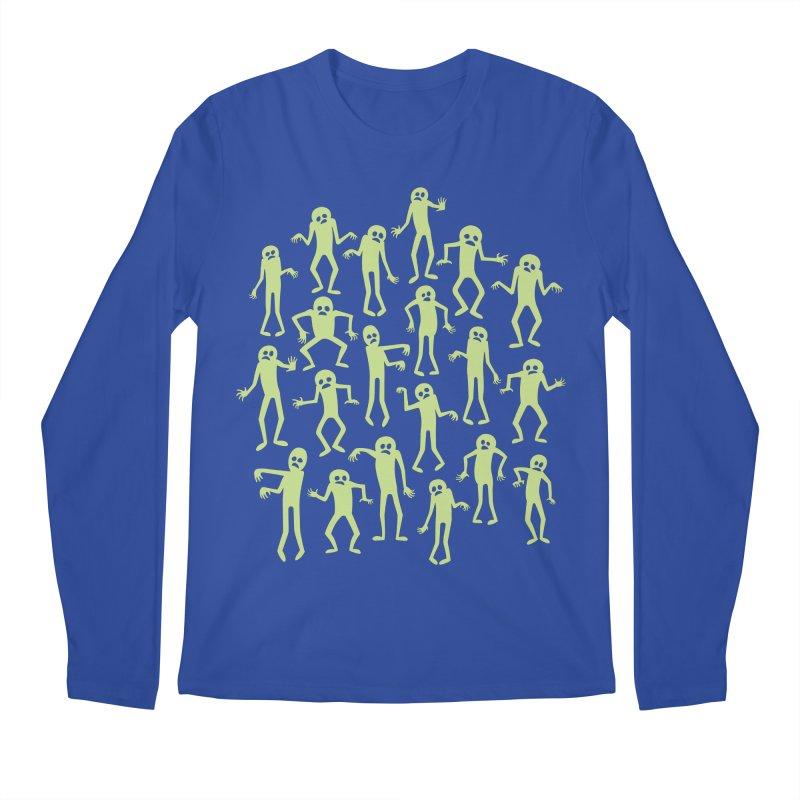Zombie Dance Men's Longsleeve T-Shirt by doodledojo's Artist Shop