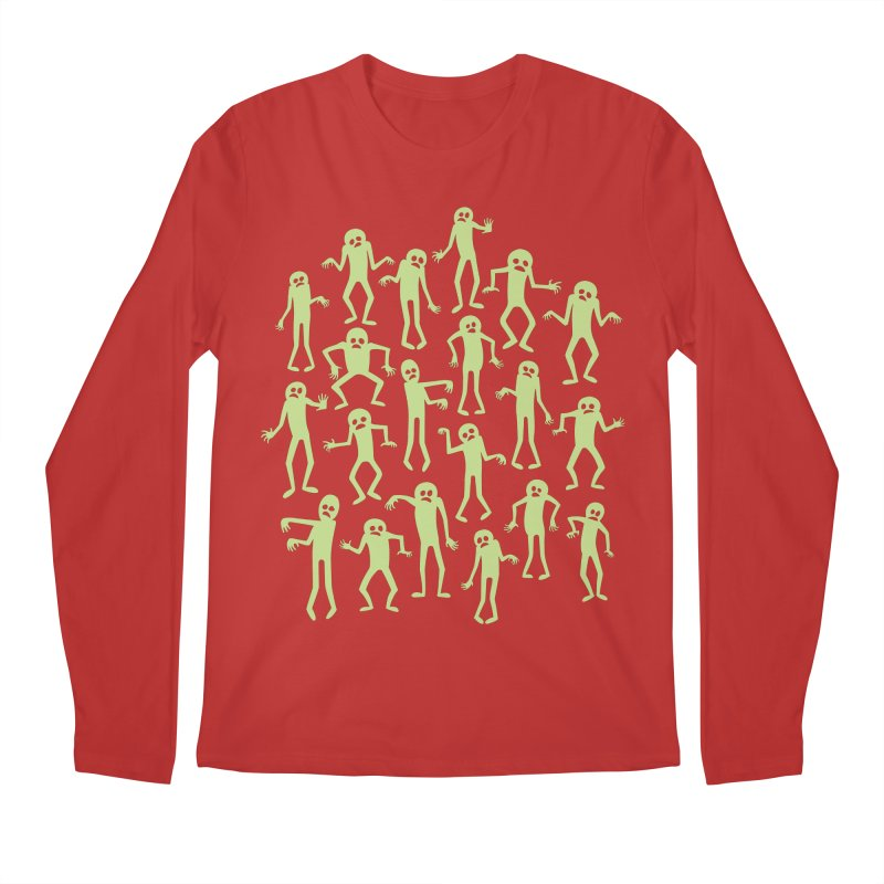 Zombie Dance Men's Longsleeve T-Shirt by doodledojo's Artist Shop