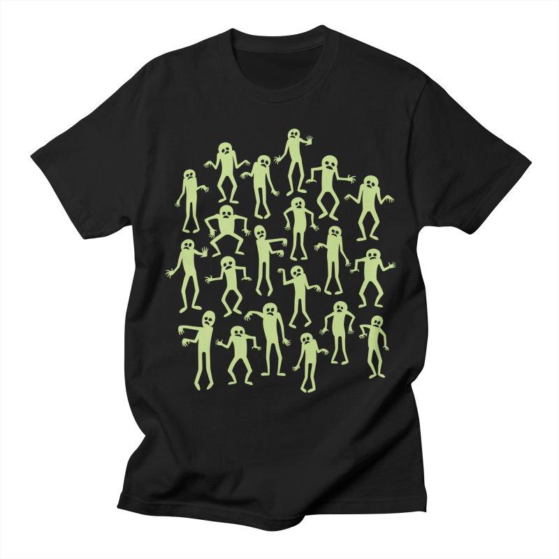 Zombie Dance Men's T-Shirt by doodledojo's Artist Shop