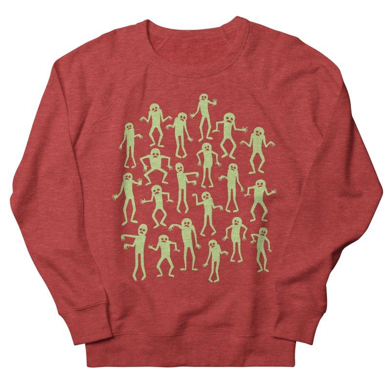 Zombie Dance Men's French Terry Sweatshirt by doodledojo's Artist Shop