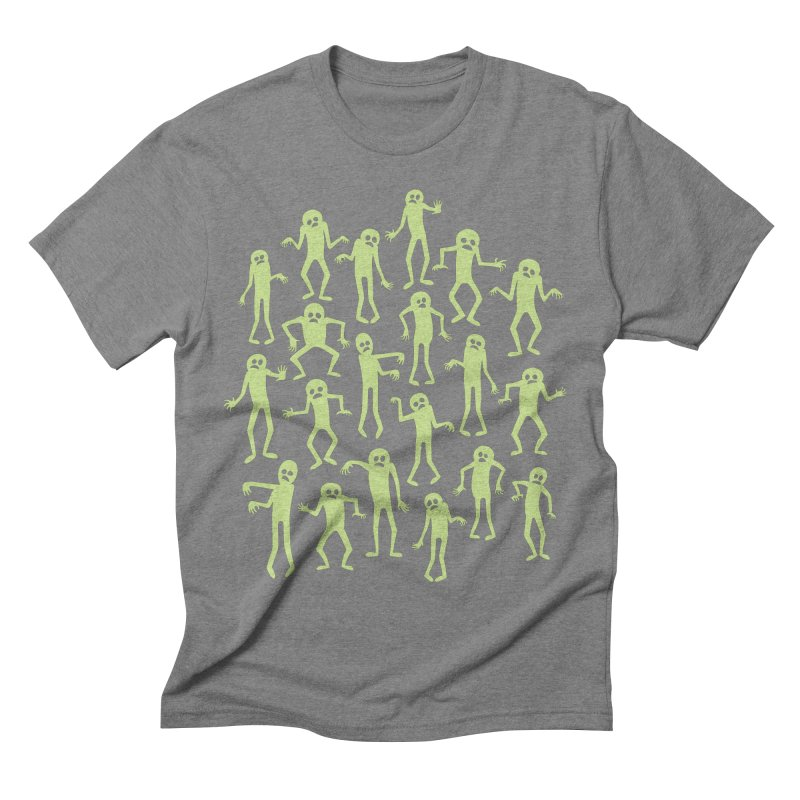 Zombie Dance Men's Triblend T-Shirt by doodledojo's Artist Shop