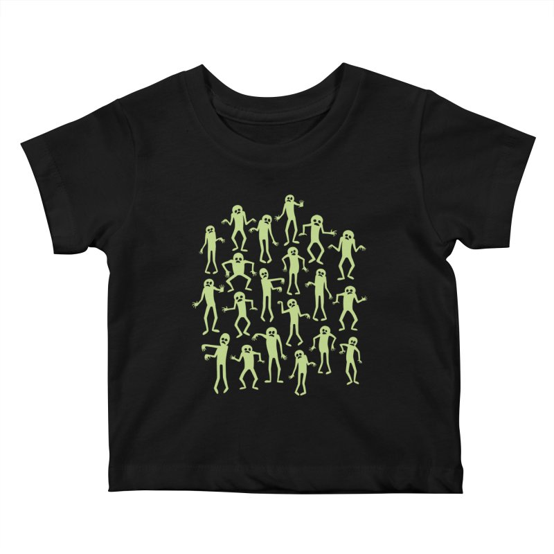 Zombie Dance Kids Baby T-Shirt by doodledojo's Artist Shop