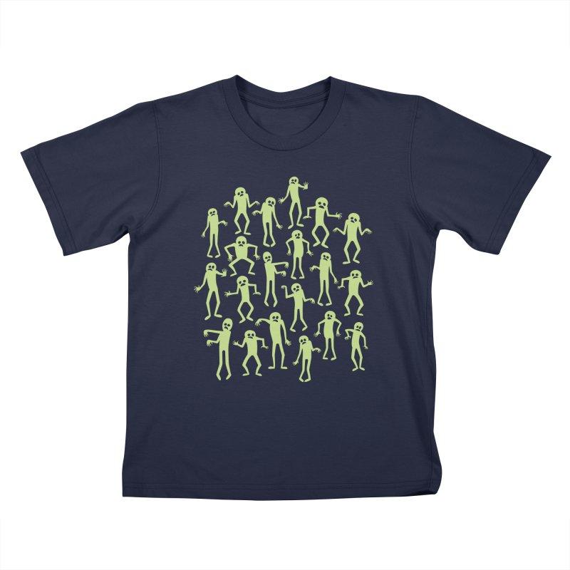 Zombie Dance Kids T-shirt by doodledojo's Artist Shop