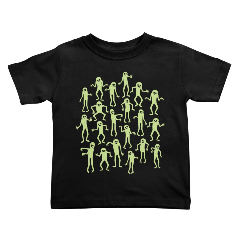 Zombie Dance Kids Toddler T-Shirt by doodledojo's Artist Shop