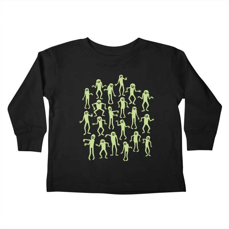 Zombie Dance Kids Toddler Longsleeve T-Shirt by doodledojo's Artist Shop