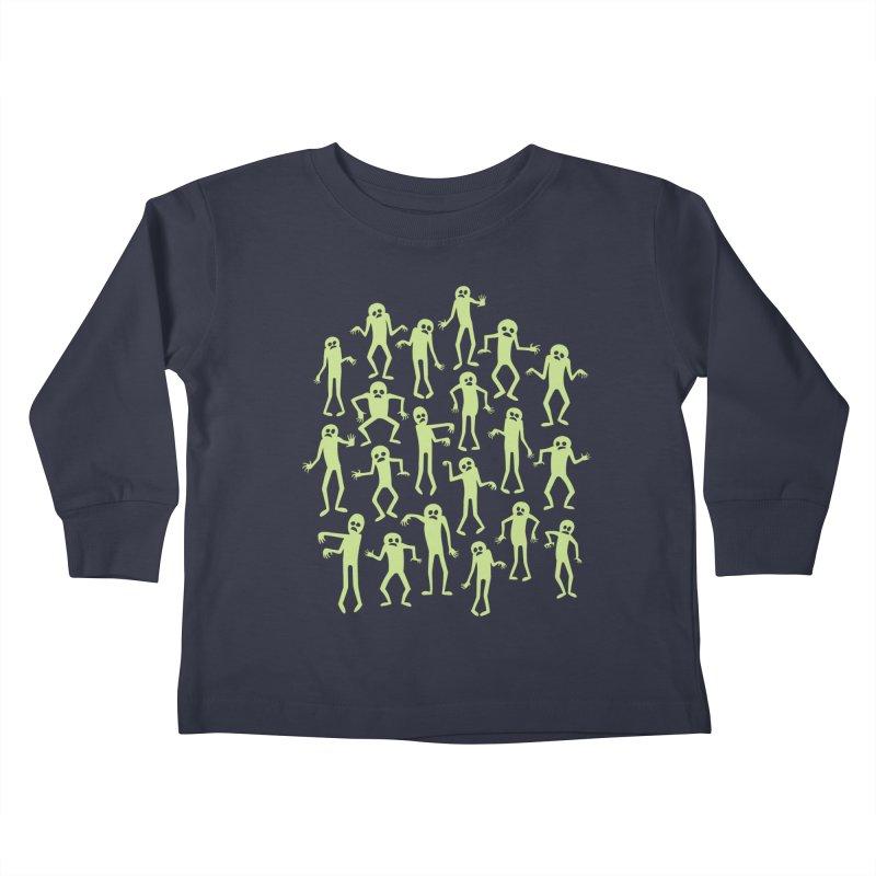 Zombie Dance Kids Toddler Longsleeve T-Shirt by doodledojo's Artist Shop
