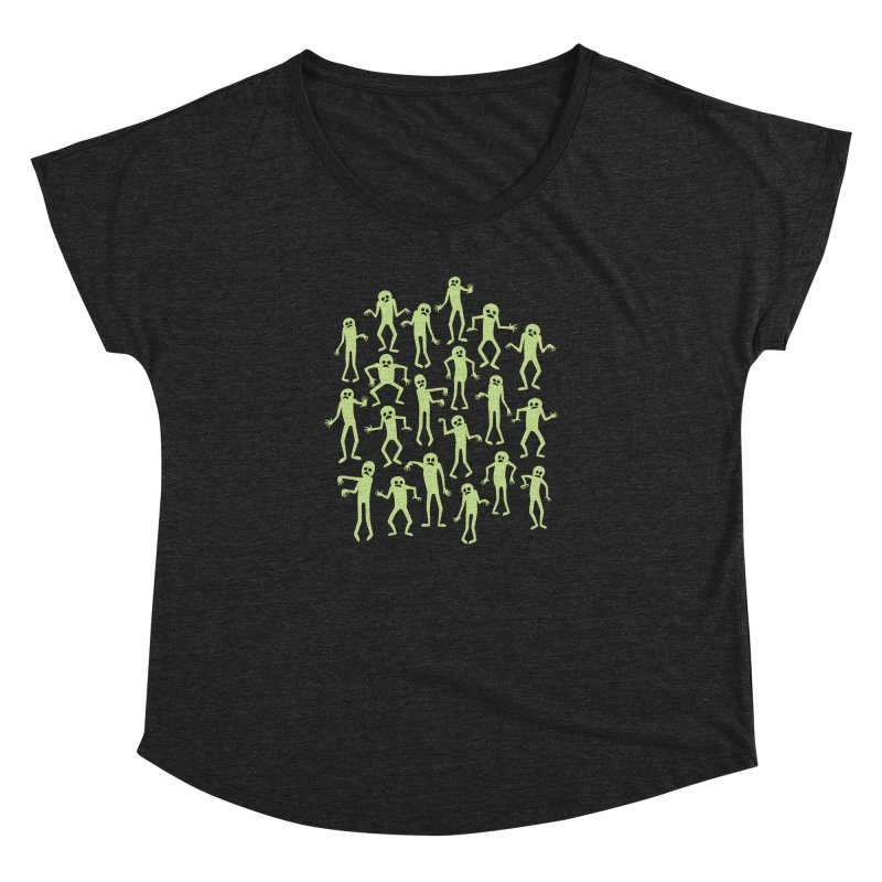 Zombie Dance Women's Dolman by doodledojo's Artist Shop