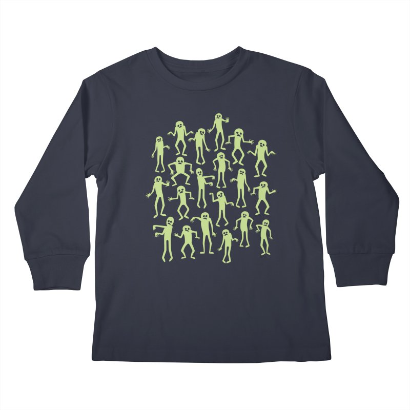 Zombie Dance Kids Longsleeve T-Shirt by doodledojo's Artist Shop