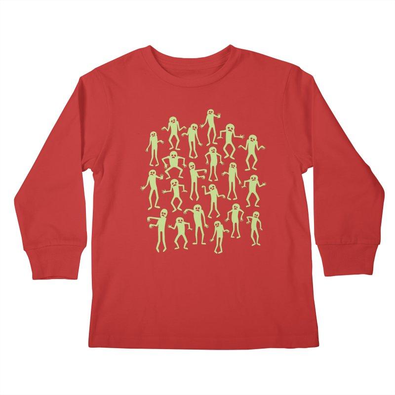 Zombie Dance Kids Longsleeve T-Shirt by doodledojo's Artist Shop