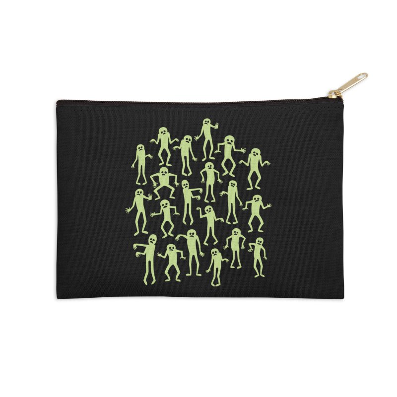 Zombie Dance Accessories Zip Pouch by doodledojo's Artist Shop