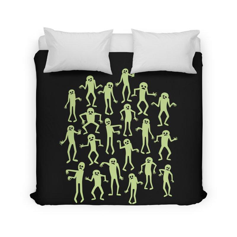 Zombie Dance Home Duvet by doodledojo's Artist Shop