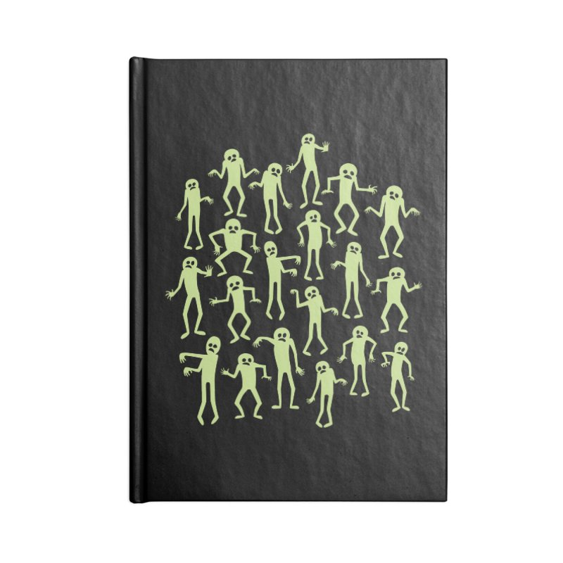 Zombie Dance Accessories Notebook by doodledojo's Artist Shop