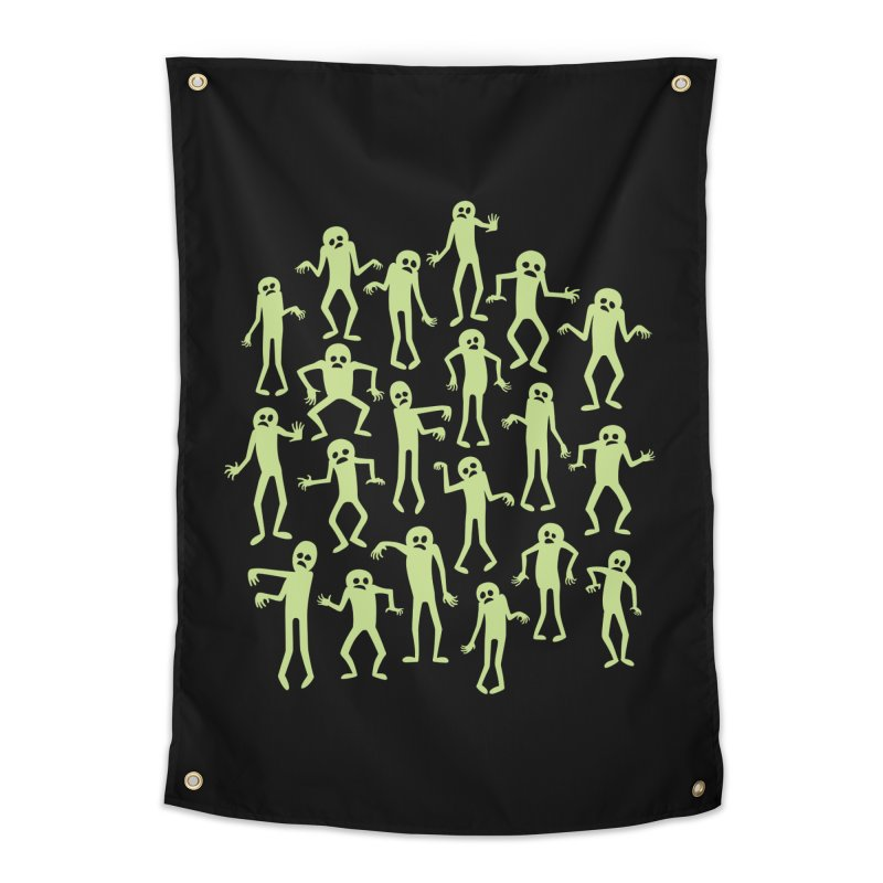 Zombie Dance Home Tapestry by doodledojo's Artist Shop