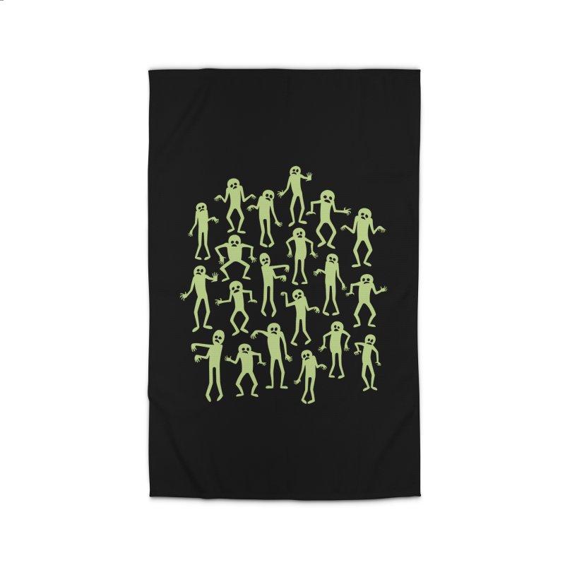 Zombie Dance Home Rug by doodledojo's Artist Shop