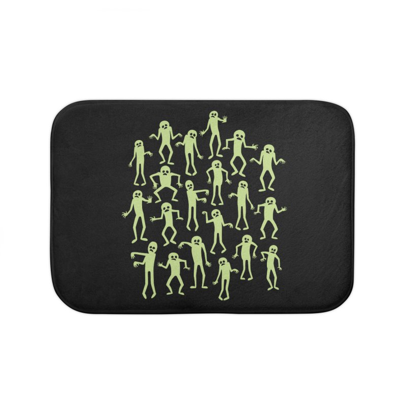 Zombie Dance Home Bath Mat by doodledojo's Artist Shop