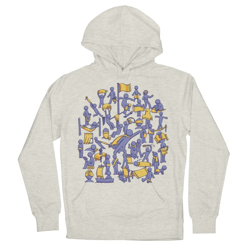 42 Uses for Towels Men's Pullover Hoody by doodledojo's Artist Shop
