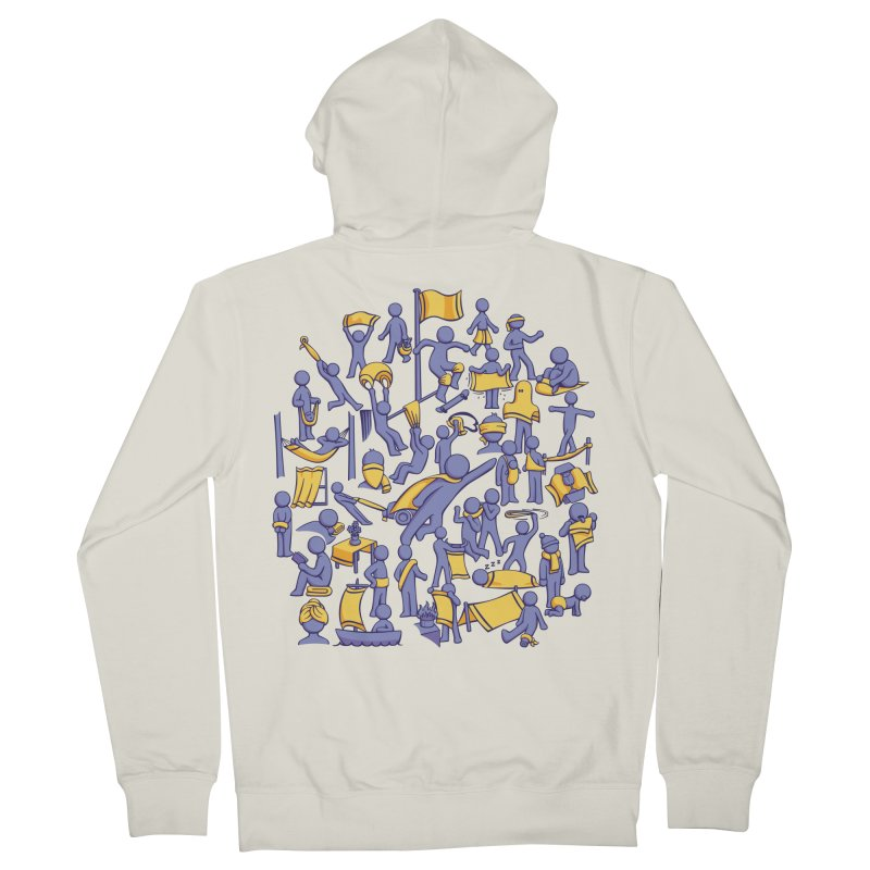 42 Uses for Towels Men's French Terry Zip-Up Hoody by doodledojo's Artist Shop