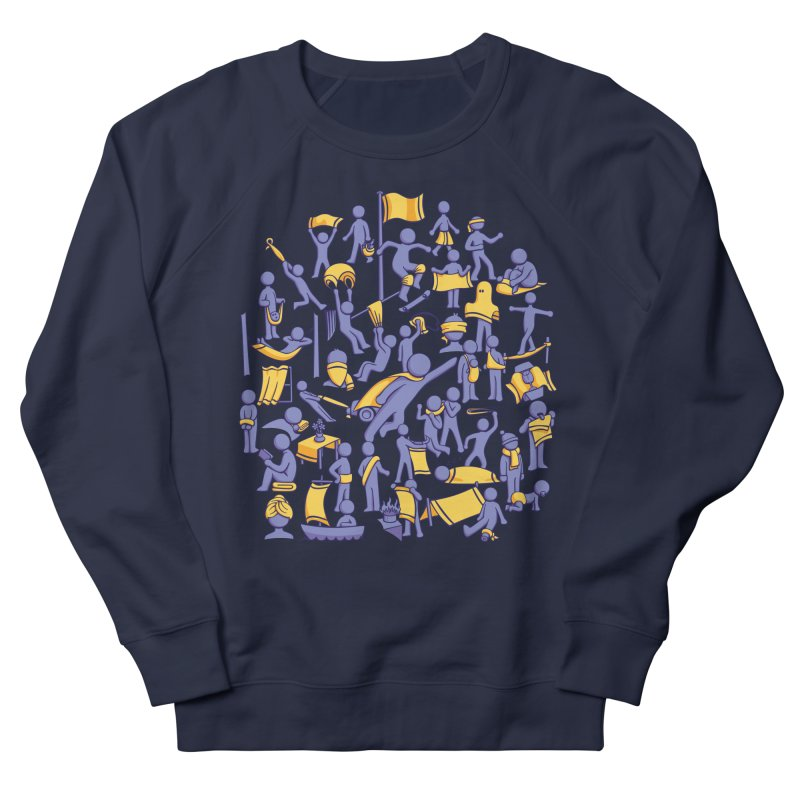 42 Uses for Towels Men's Sweatshirt by doodledojo's Artist Shop