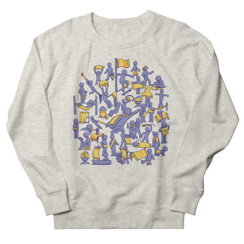 42 Uses for Towels Men's Sweatshirt by doodledojo's Artist Shop