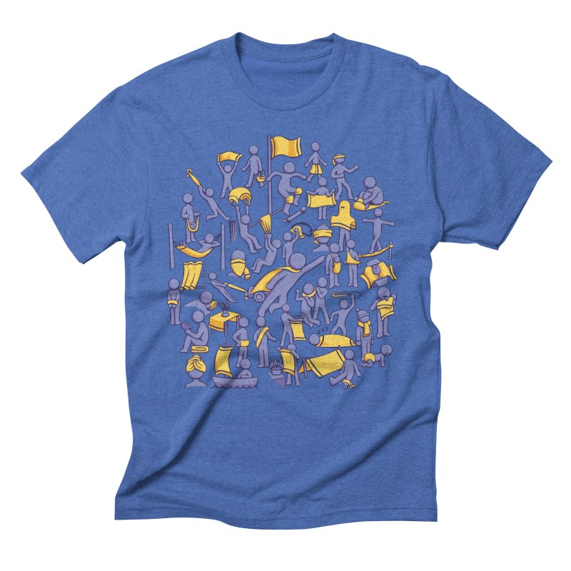 42 Uses for Towels Men's Triblend T-shirt by doodledojo's Artist Shop