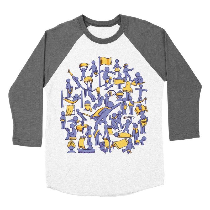 42 Uses for Towels Women's Baseball Triblend T-Shirt by doodledojo's Artist Shop