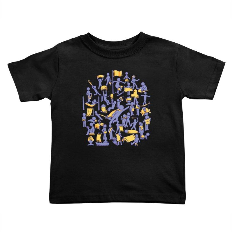 42 Uses for Towels Kids Toddler T-Shirt by doodledojo's Artist Shop