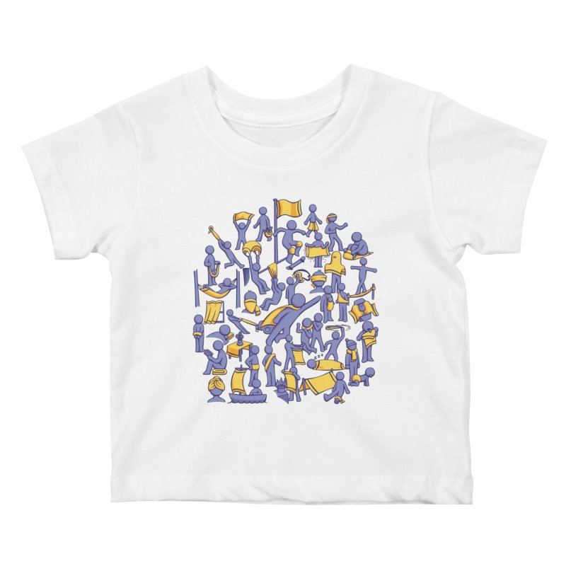 42 Uses for Towels Kids Baby T-Shirt by doodledojo's Artist Shop