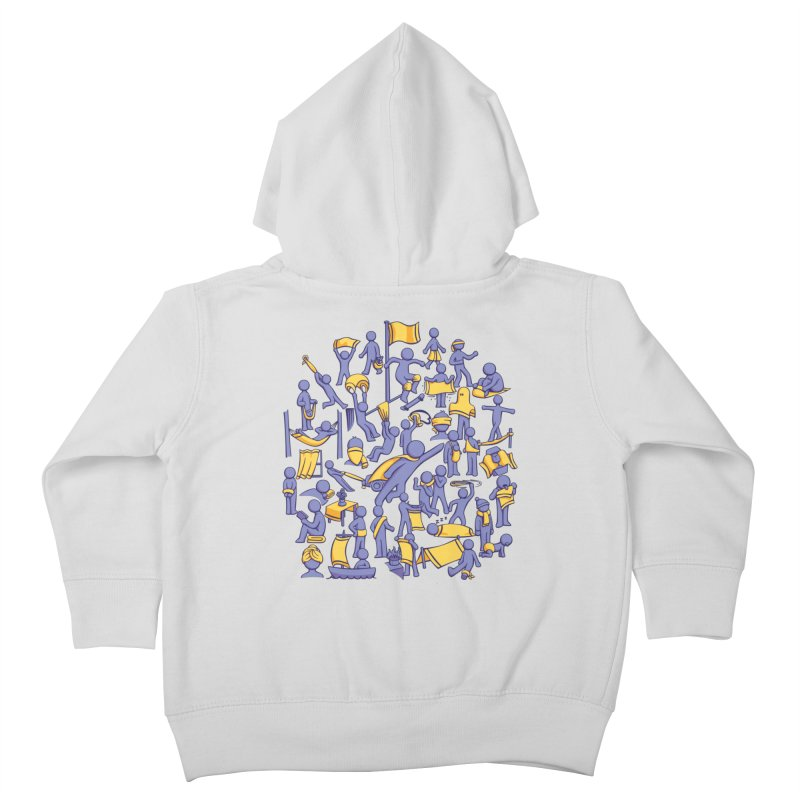 42 Uses for Towels Kids Toddler Zip-Up Hoody by doodledojo's Artist Shop