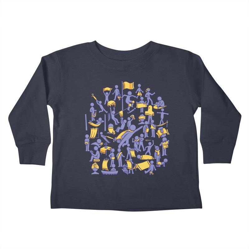 42 Uses for Towels Kids Toddler Longsleeve T-Shirt by doodledojo's Artist Shop
