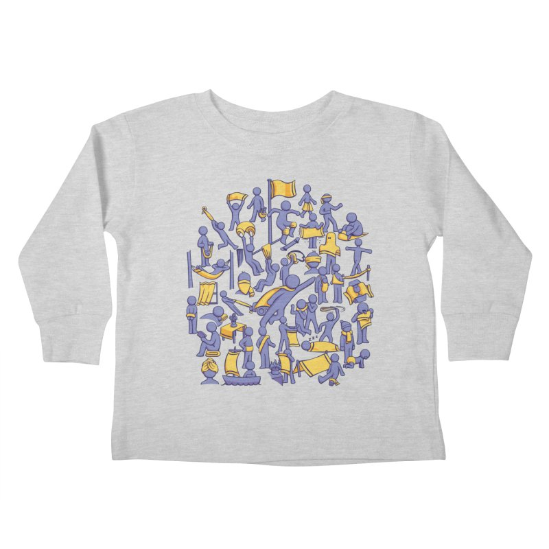 42 Uses for Towels Kids Toddler Longsleeve T-Shirt by doodledojo's Artist Shop