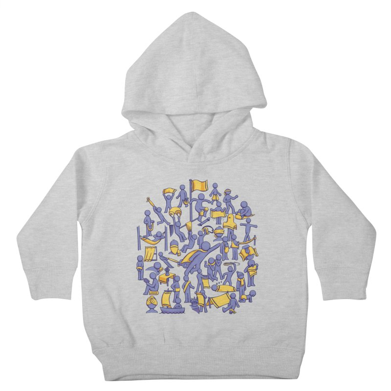 42 Uses for Towels Kids Toddler Pullover Hoody by doodledojo's Artist Shop