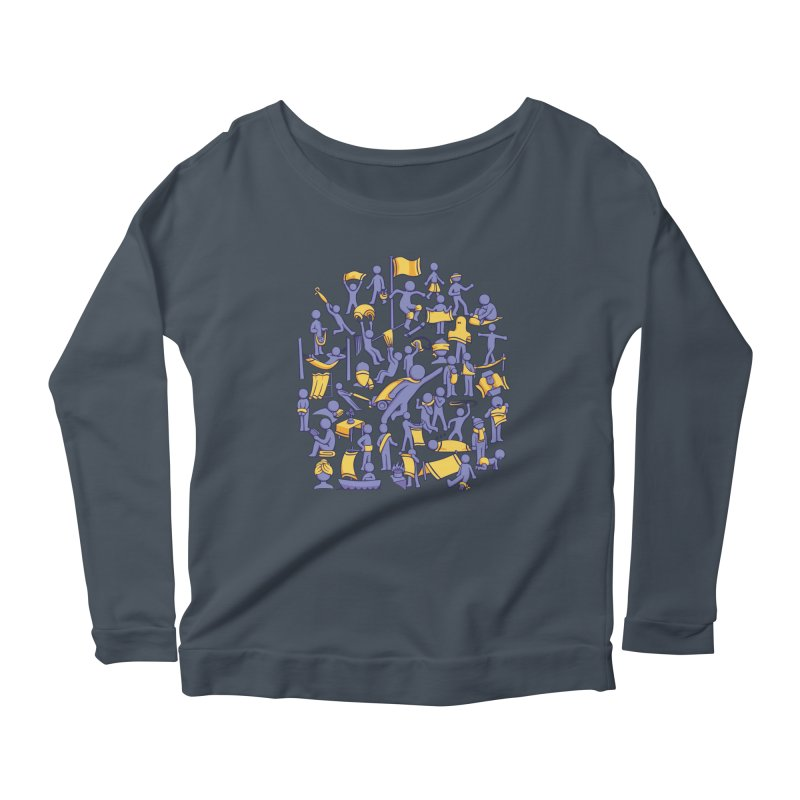 42 Uses for Towels Women's Longsleeve Scoopneck  by doodledojo's Artist Shop
