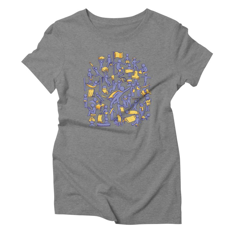 42 Uses for Towels Women's Triblend T-Shirt by doodledojo's Artist Shop