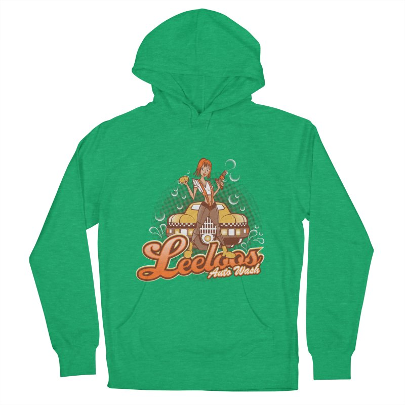 LeeLoo's Autowash Men's French Terry Pullover Hoody by doodleheaddee's Artist Shop