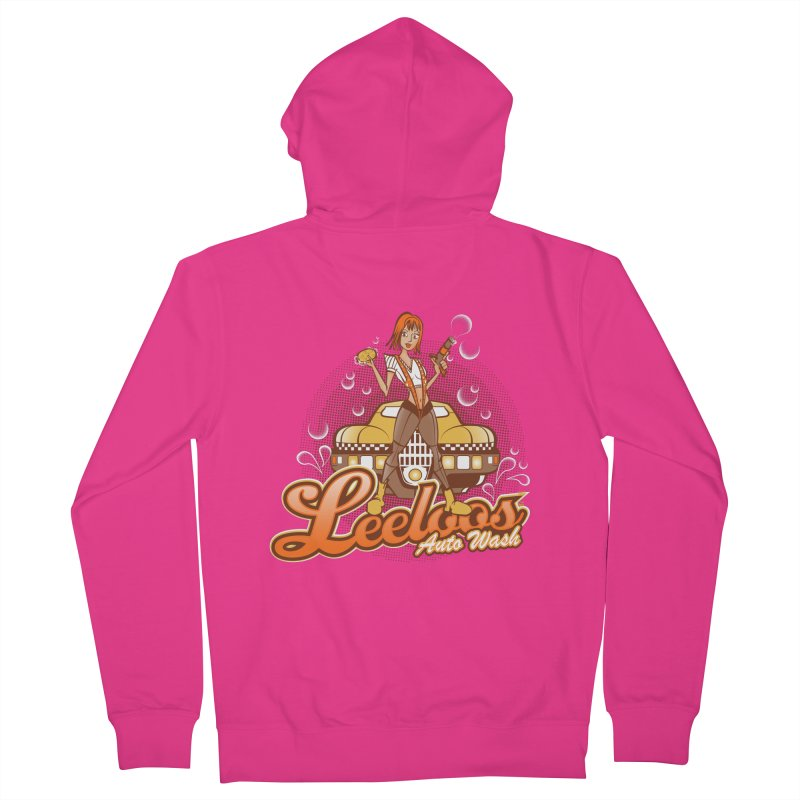 LeeLoo's Autowash Men's Zip-Up Hoody by doodleheaddee's Artist Shop