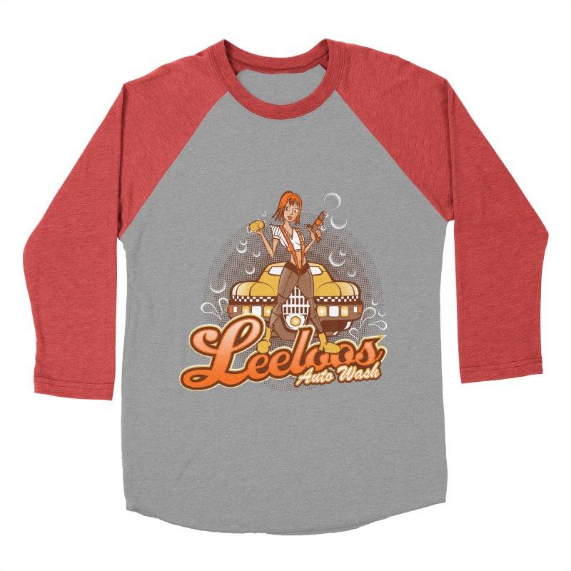 LeeLoo's Autowash Women's Baseball Triblend T-Shirt by doodleheaddee's Artist Shop