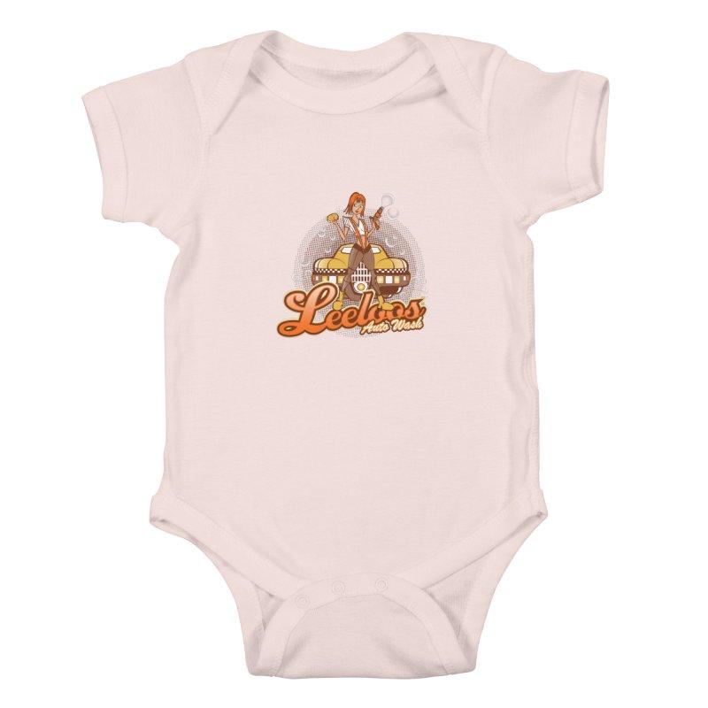 LeeLoo's Autowash Kids Baby Bodysuit by doodleheaddee's Artist Shop