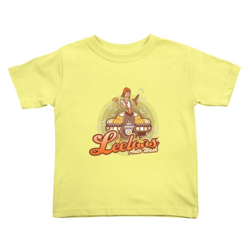 LeeLoo's Autowash Kids Toddler T-Shirt by doodleheaddee's Artist Shop