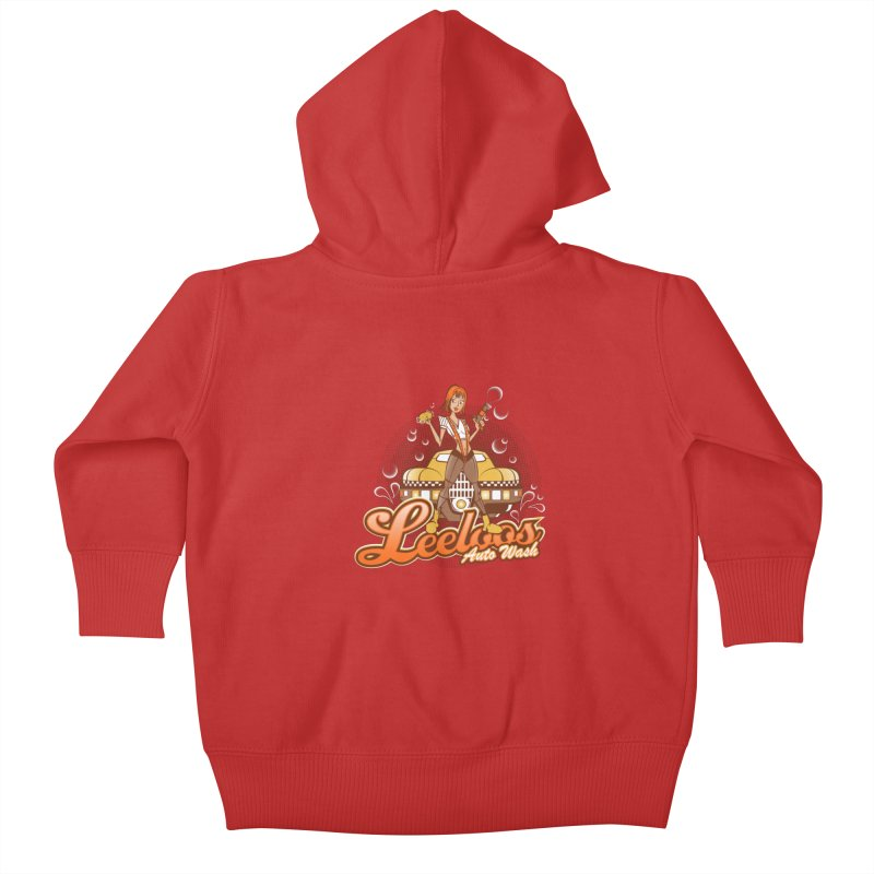 LeeLoo's Autowash Kids Baby Zip-Up Hoody by doodleheaddee's Artist Shop