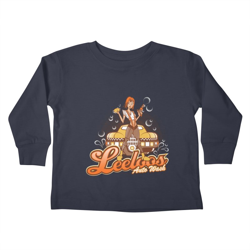 LeeLoo's Autowash Kids Toddler Longsleeve T-Shirt by doodleheaddee's Artist Shop