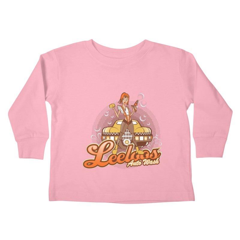 LeeLoo's Autowash Kids Toddler Longsleeve T-Shirt by doodleheaddee's Artist Shop